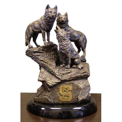 NCAA North Carolina State College Desktop Sculpture