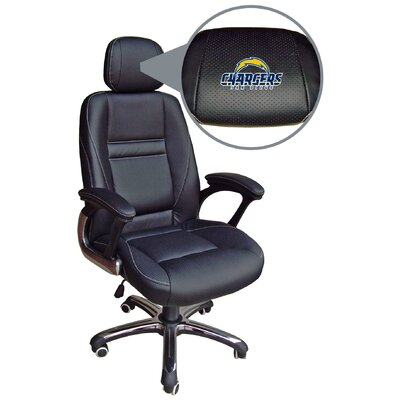 NFL Executive Chair NFL Team: San Diego Chargers 901N-NFL125