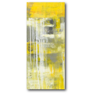 'Mellow II' Painting Print on Wrapped Canvas