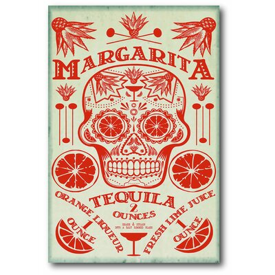 'Margarita' Textual Art Print on Wrapped Canvas