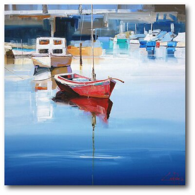 'Mordialloc Moorings' Print on Canvas