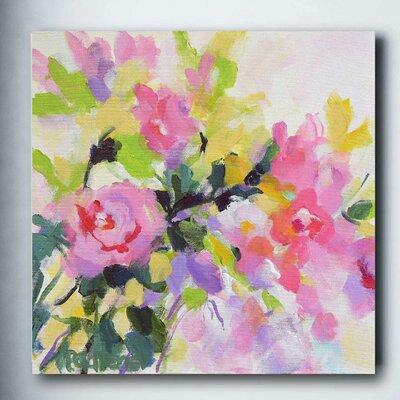 'Wild Rose Garden' Print on Canvas