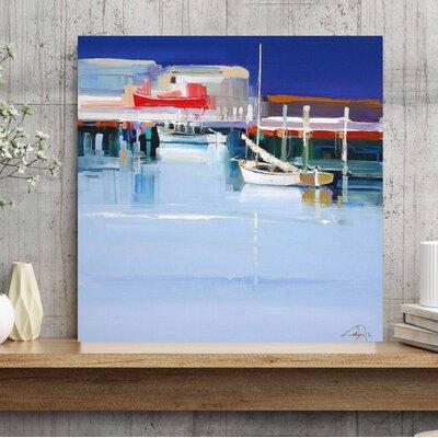 'Port Fairy Moorings 2' Print on Canvas