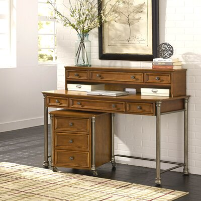 Home Styles Orleans Executive Desk with Hutch