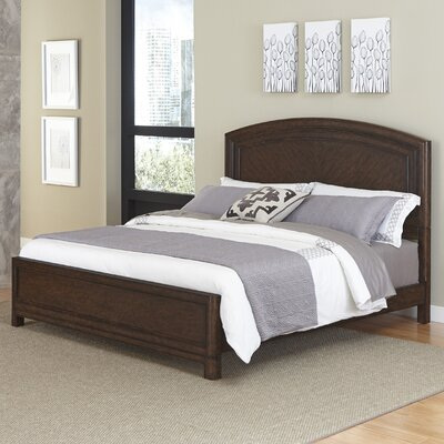 Crescent Hill Panel Bed Size: King