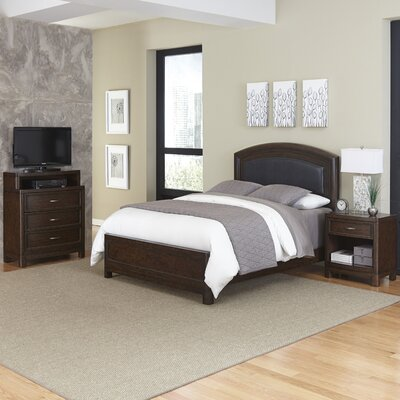 Crescent Hill Panel 3 Piece Bedroom Set Size: Queen