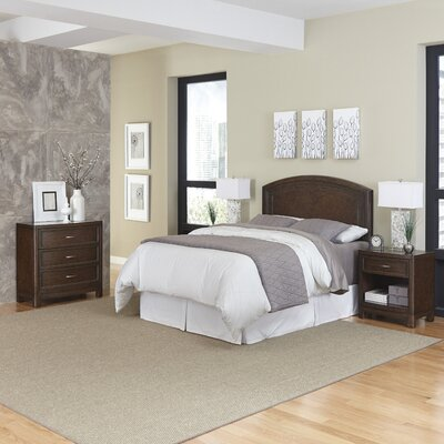 Crescent Hill Panel 4 Piece Bedroom Set Size: Queen