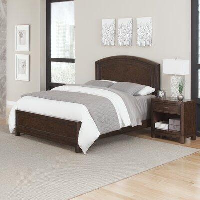 Crescent Hill Panel 2 Piece Bedroom Set Size: Queen