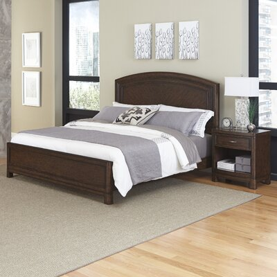 Crescent Hill Panel 2 Piece Bedroom Set Size: King