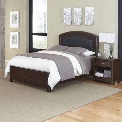 Crescent Hill Panel 2 Piece Bedroom Set Size: Queen