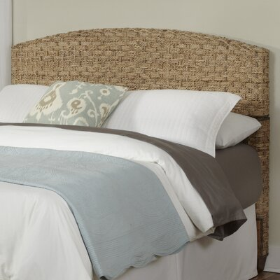 Cabana Banana Panel Headboard Finish: Honey, Size: King