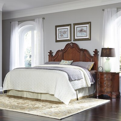Santiago Panel 2 Piece Bedroom Set Size: King/California King