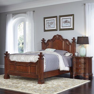 Santiago Panel 2 Piece Bedroom Set Size: Queen