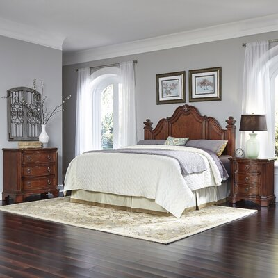Santiago Platform 3 Piece Bedroom Set Size: King/California King