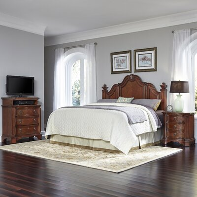 Santiago Panel 3 Piece Bedroom Set Size: King/California King