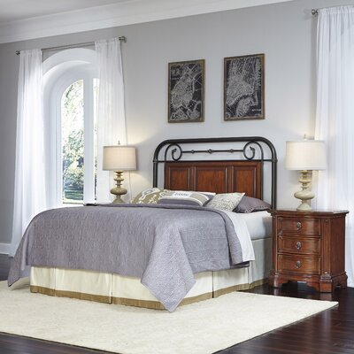 Richmond Hill Panel 3 Piece Bedroom Set Size: Queen/Full