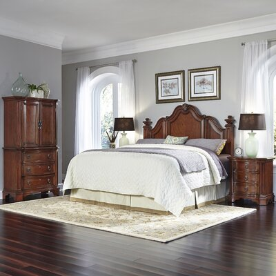 Santiago Platform 4 Piece Bedroom Set Size: King/California King