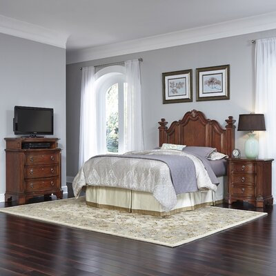 Santiago Panel 3 Piece Bedroom Set Size: Queen/Full