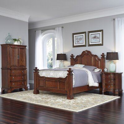 Santiago Platform 4 Piece Bedroom Set Size: Queen
