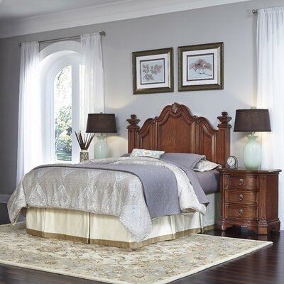 Santiago Panel 3 Piece Bedroom Set Size: Queen/Full