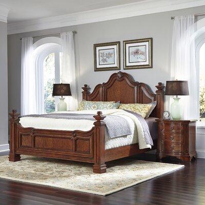 Santiago Platform 3 Piece Bedroom Set Size: King