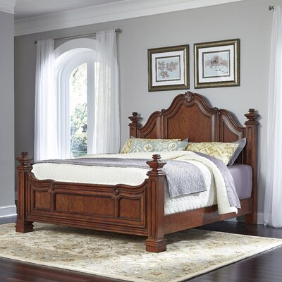 Santiago Panel Bed Size: King