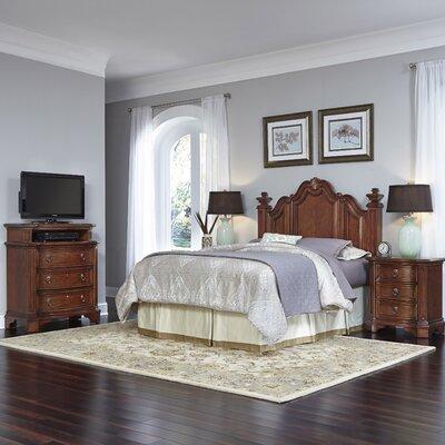 Santiago Panel 4 Piece Bedroom Set Size: Queen/Full