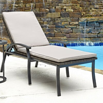 Laguna Chaise Lounge with Cushions