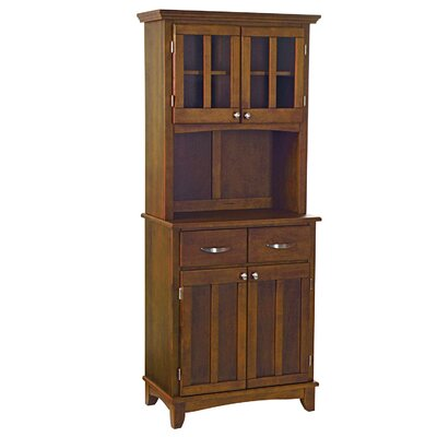 Home Styles China Cabinet - Top Material: Cherry Wood, Finish: Medium Cherry at Sears.com