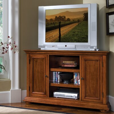 Cheap Home Styles Homestead Corner 50″ TV Stand in Rich Multi-Step Warm Oak (HO2094)
