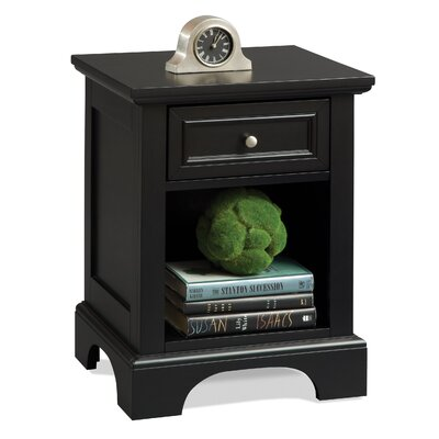 Easy furniture financing Bedford 1 Drawer Nightstand Finish:...