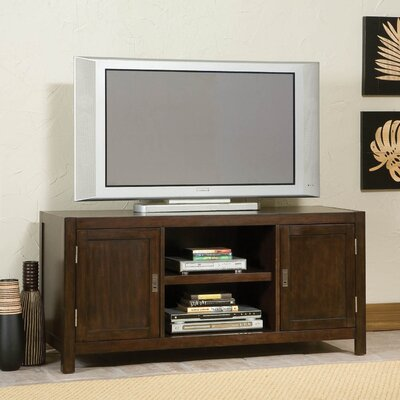 Cheap Home Styles City Chic Center 56″ TV Stand in Espresso (HO1951)