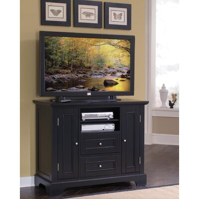 Cheap Home Styles Bedford 44″ Compact TV Stand Finish: Ebony (HO2191_4339365)