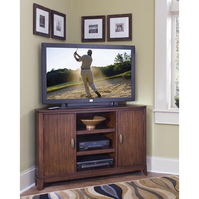 Cheap Home Styles Paris Corner 49″ Entertainment TV Stand in Mahogany (HO2142)