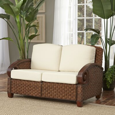 Cabana Banana III Loveseat Frame Finish: Cinnamon