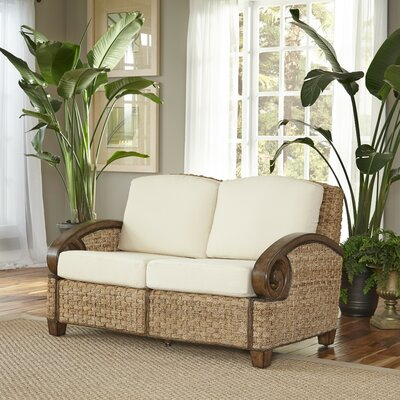 Cabana Banana III Loveseat Frame Finish: Honey