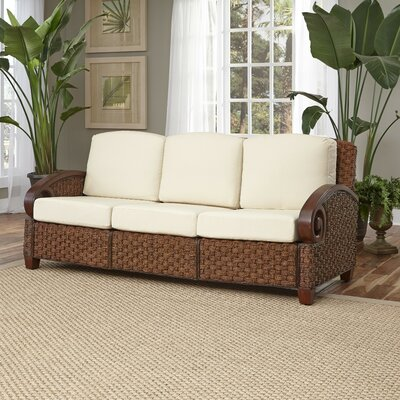Cabana Banana III Sofa Frame Finish: Cinnamon