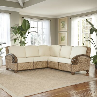 Cabana Banana Iii Sectional Upholstery: Honey