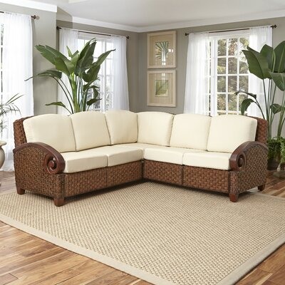 Cabana Banana Iii Sectional Upholstery: Cinnamon