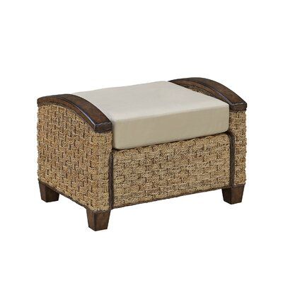 Cabana Banana III Ottoman Finish: Honey