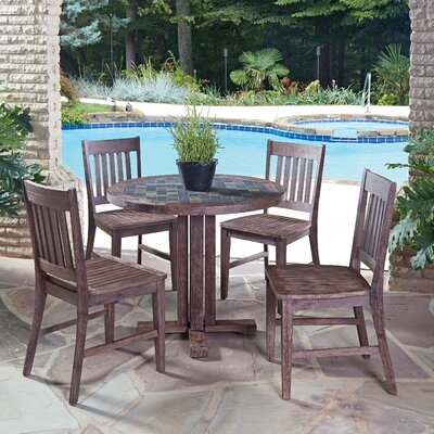 Morocco 5 Piece Dining Set