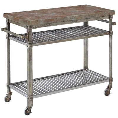 Urban Serving Cart Finish: Rust