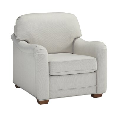 Stationary Arm Chair Color: Off white