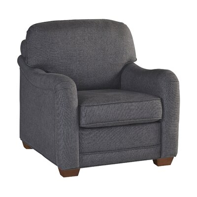 Stationary Armchair Upholstery: Gray