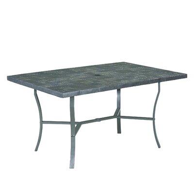 Stone Veneer Dining Table