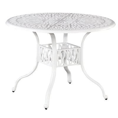Floral Blossom Dining Table Table Size: 42.25L x 42.25W