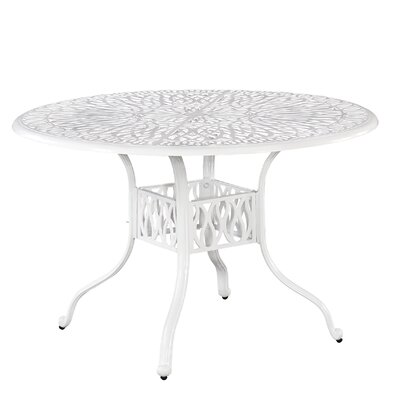 Floral Blossom Dining Table Table Size: 48.25L x 48.25W