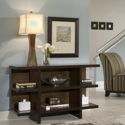 Cheap Home Styles Geo Console Table in Walnut (HO2241)
