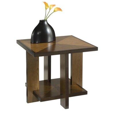 Cheap Home Styles Geo Side Table in Walnut (HO2243)