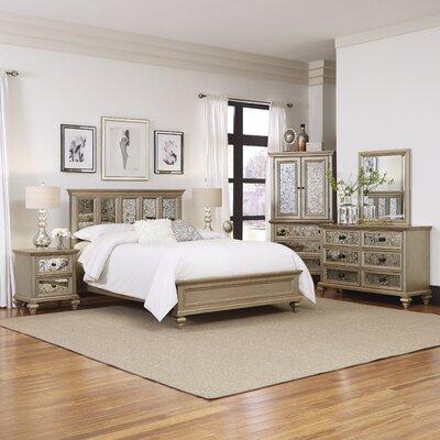 Visions Panel 5 Piece Bedroom Set Size: Queen